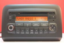 FIAT CROMA CD RADIO PLAYER CANCHECK DISABLED CAR STEREO SECURITY CODE WARRANTY