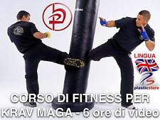 Krav Maga Elite Combat Fitness - (2 DVD) 6 Ore 300 Drills - Training + Omaggio