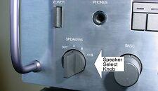 Speaker Select Knob for CARVER THE RECEIVER MXR-130 -150 -900 -2000