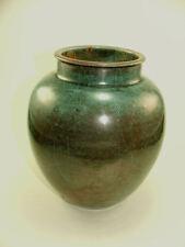 2. Keramik Vase Reduktionsglasur R. Uhlemeyer Bauhaus Form German art pottery Ω