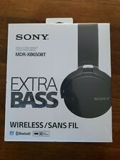 New! Sony Bluetooth Wireless Over-Ear Headphones Extra Bass Mdr-Xb650Bt FreeShip