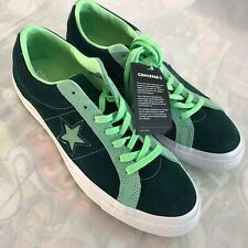 Converse ONE STAR Low OX 'Carnival' Men's Size 10 Ponderosa Pine Lime Shoes NEW