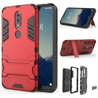 For NOKIA X6/6.1 Plus 2018 Shockproof Hybrid Stand Silicone TPU Hard Case Cover