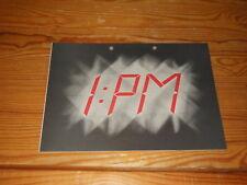 PM - 1 PM (CARL PALMER) / ARIOLA PROMO-HEFT (DIN-A-4) 1980