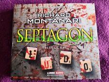 CD HÖRBUCH THRILLER   RICHARD MONTANARI   SEPTAGON   BYRNE & BALZANO № 4