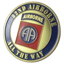 82ND AIRBORNE DIVIISION  CHALLENGE COIN