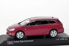 Opel Astra Sportstourer 2001 rot Minichamps 1:43 NEU/OVP