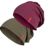 C3 JERSEY BEANIE S/M L/XL Youth Long Slouch Winter Hat Unisex Flap Cap MSTRDS