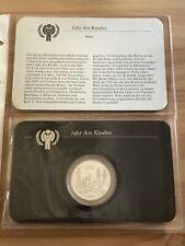 Jahr des Kindes 1979 Silbermünze PP Malta 5 Pfund 925er Silber