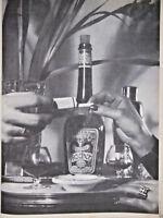 PUBLICITÉ DE PRESSE 1952 DIGESTIF CHERRY ROCHER - ADVERTISING
