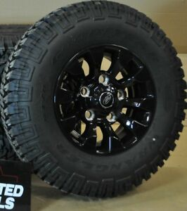 Goodyear Wrangler MT/R 235/85r16 & Saw tooth style alloy for Defender 90/110 X 1