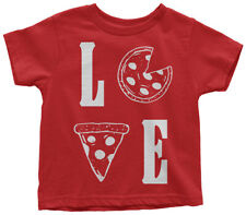 Love Pizza Toddler T-Shirt Pizza Pie Lover Fun Gift Idea