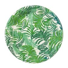 12 x Palm Tree paper Party Plates Tropical Hawaiian Party Theme Lovely Quality