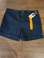 New Jones NY Women's Utility Shorts Navy 16
