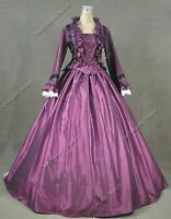 Victorian Civil War Dickens Christmas Caroler Dress Reenactment Ball Gown 170