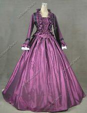 Victorian Civil War Dickens Masquerade Ball Gown Reenactment Cosplay Dress 170