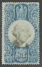 U.S. Revenue stamp scott r125 - $3.00 Washington issue of 1971 - #2