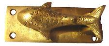 Fish Shape Antique Vintage Finish Handmade Brass Door Knocker Door Home Decor