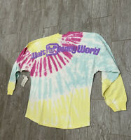 Disney Parks Walt Disney World Logo Tie-Dye Spirit Jersey Adult SMALL