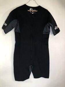 KUTTING WEIGHT KW Mens XL Sauna Zip Front Suit