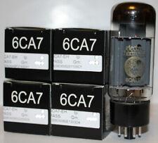 Factory Platinum Matched Quad Electro Harmonix Fat Bottle 6CA7 / EL34 Tubes, NEW