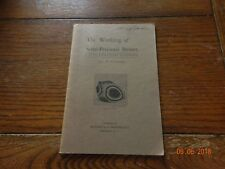 The Working Of Semi Precious Stones Book First Edition 1931 J.H. Howard
