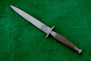 Vintage Fairbairn Sykes Commando England British Fighting Knife Dagger Khanjar