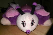 Dream Lites Pillow Pets Pink/Purple/Black Butterfly w/ 3 Light Colors