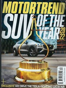 Motor Trend   December 2021  SUV of the Year 2022