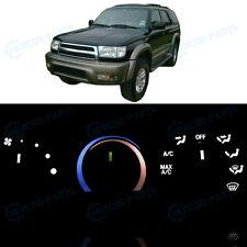 Full Kit AC Heater Control Ultra White LED Lights for 1996-2000 Toyota 4Runner