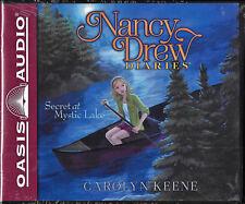 NEW Nancy Drew Diaries Secret at Mystic Lake Carolyn Keene Audio Book 6 Volume