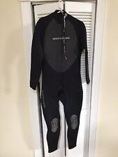 Body Glove Men's Pro 2.0 3/2MM Back Zip Fullsuit Wetsuit Size Men's Large Black