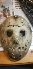 Jason voorhees mask Friday 13th  never hike alone custom made to order.