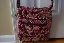 Retired Vera Bradley Large Hipster Crossbody Cross Body Messenger Bag - NWT!