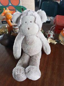 "The Little White Company - Marcelle Monkey Chimp Baby Soft Plush Toy ape Vgc 14"""