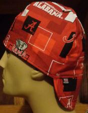 Alabama Crimson Tide 3 100% cotton, Welding, Biker, pipefitter,4 panel hat