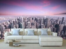 New York city  3D Mural Photo Wallpaper Decor Large Paper Wall