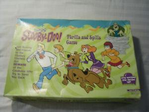 Vintage Scooby-Doo! Thrills And Spills Board Game 1999 Pressman Cartoon Network
