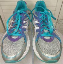 ASICS Silv/Purple/Turquoise Men Athletic Shoes Running Training Walking AHAR Gel