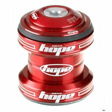 """Hope MTB Conventional Headset 1 1/8"""" Bearings Red"""