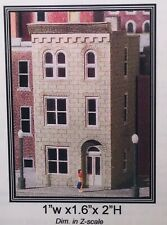 Z scale Miller Engineering Micro Structures Town House #1 Kit #V101