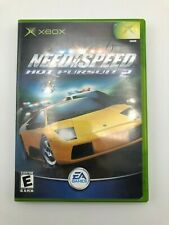 Need for Speed: Hot Pursuit 2 (Microsoft Xbox, 2002) COMPLETE CIB