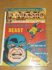 FANTASTIC #77 BRITISH WEEKLY 3RD AUGUST 1968 BEAST X-MEN^