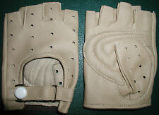 NOS Vintage Bicycle Gloves, Snap Closure, Small, Perforated, Japan, FREE Ship US