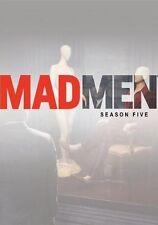 "Mad Men Season Five DVD with BONUS DISC ""Inside the Actor's Studio"" with cast"