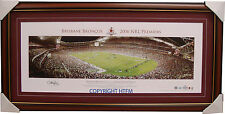 Brisbane Broncos 2006 Premiers SIGNED DARREN LOCKYER L/E OFFICIAL Print Framed