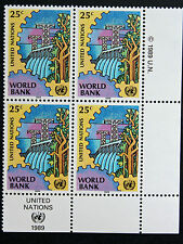 NATIONS-UNIS (new-york) timbre / stamp Yvert et Tellier n°539 x4 n** (Cyn13)