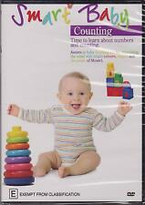 SMART BABY - COUNTING - TIME TO LEARN ABOUT NUMBERS AND COUNTING - DVD