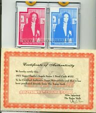 Topps 1977 Charlie's Angels 2x Color Proof Cards #157 w/ Topps® COA