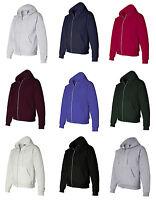 Hanes Men's Size S-XL, 2XL, 3XL, XXL, XXXL, Full Zip-Up Hooded Sweatshirt, p180